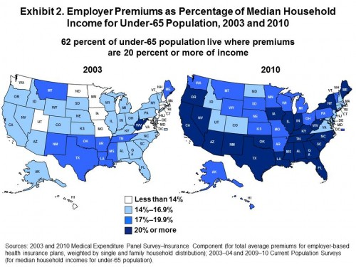 Employer Health Insurance Premiums: A Stunning Graphic from Aaron Carroll