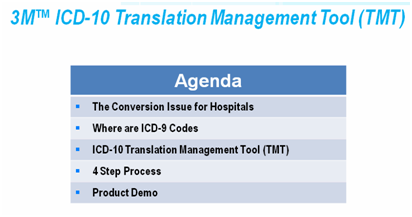 Webinar: 3M ICD-10 Imperatives for Education and Code Translation