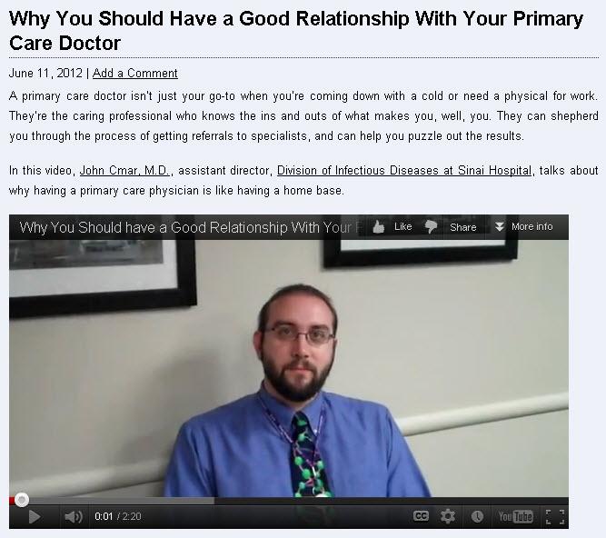 Dr. Cmar Blog
