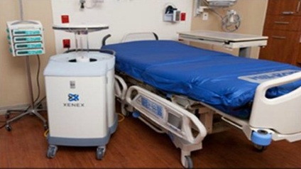 Portable UV Disinfector To Control Hospital Acquired Infections