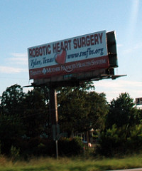 Robotic Heart Surgery Billboard