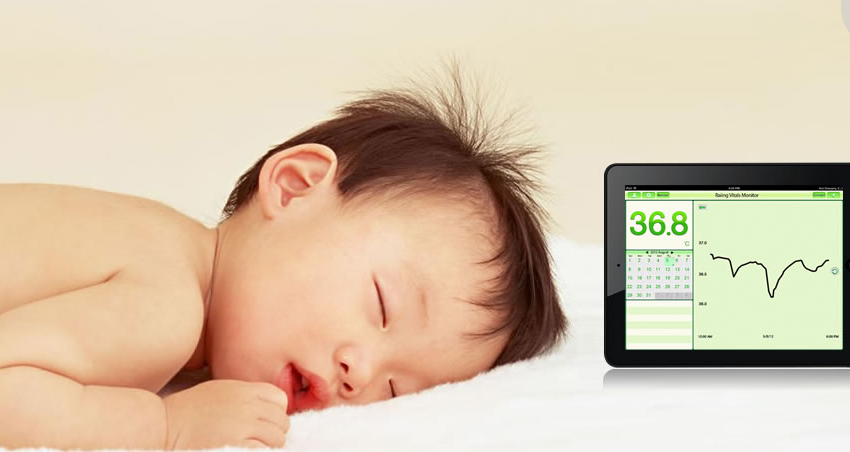 Mobile Health Around the Globe: Raiing Thermometer From China Continuously Monitors Temperature