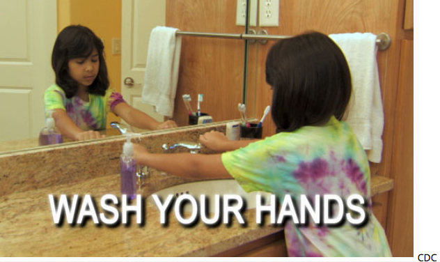 Caregivers, Don't Forget to Wash Your Hands, It Saves Lives