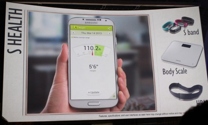 Latest Samsung Smartphone Adds Health Functions