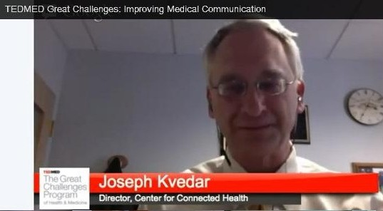 TEDMED Joseph Kvedar, MD Healthin30