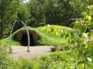 Aleut home Alaska Native Center