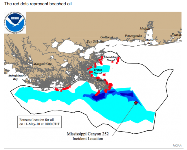 Mobile Health Around the Globe: mHealth Helps in Louisiana Oil Spill