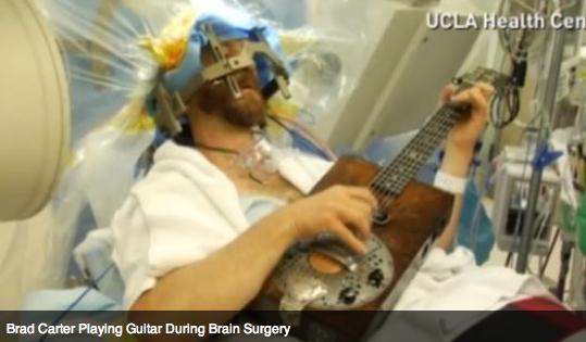 A Novel Way to Watch Brain Surgery