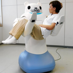 Mobile Health Around the Globe: Robots Care for the Elderly in Japan