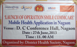 Mobile Health Around the Globe: Operation Smile India Launches mHealth Application in Assam