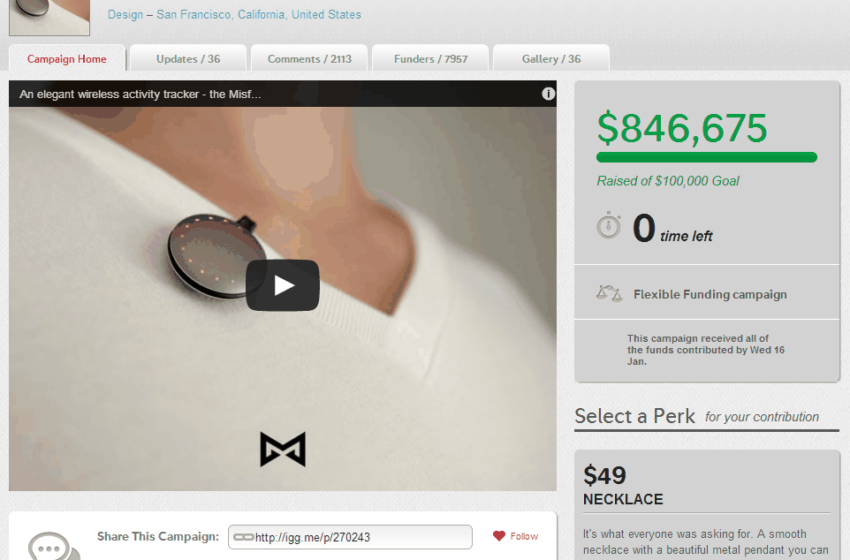 Scanadu Rocks Indiegogo For $1.1M … And Counting