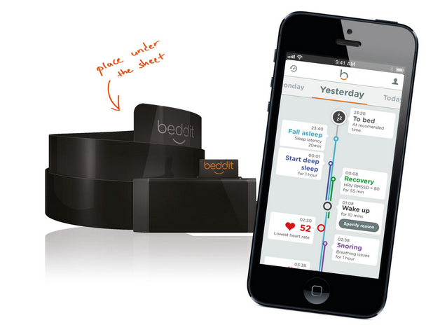 Mobile Health Around the Globe: Beddit Tells You How You Slept and How to Do It Better