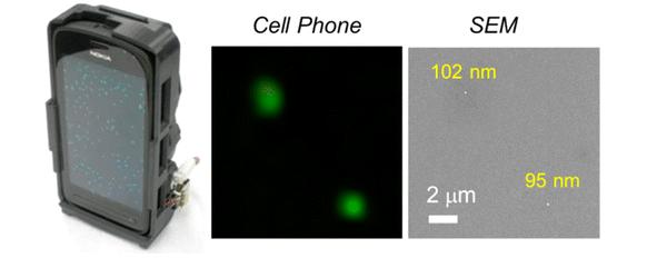 Mobile Health Around the Globe: Smartphone Microscope for Nano Particle Detection