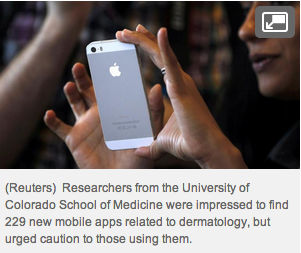 mobile dermatology app