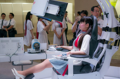 Telehealth Chair Lets You Take Your Vitals While You Relax