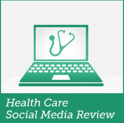 healthcare social media review