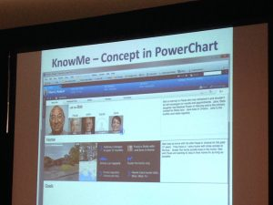 Know Me in Powerchart