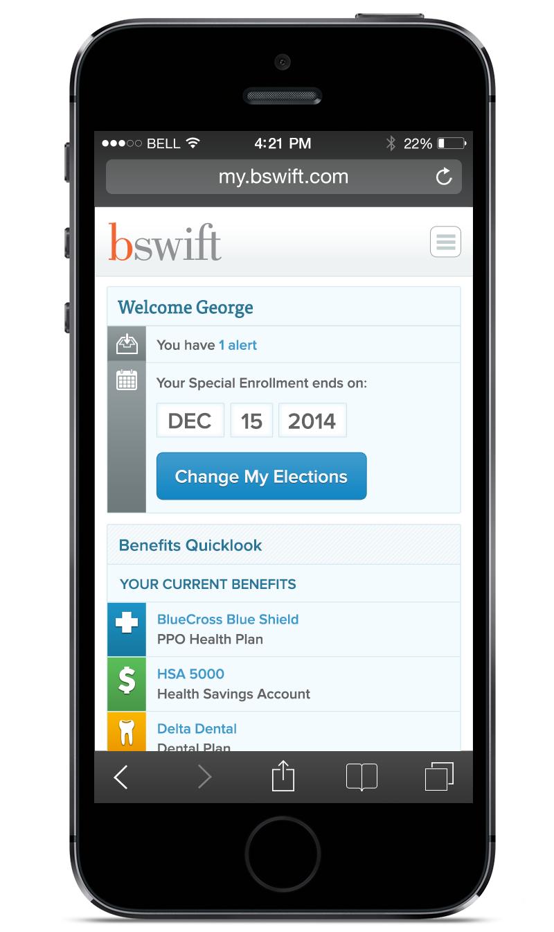 bswift Responsive Enrollment