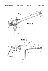 USPTO image of morcellator