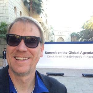 Lee Aase in Dubai