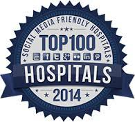 top social media hospitals