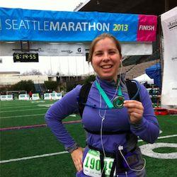 Dana Lewis marathon