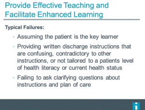 """Using """"Teach Back"""" to Decrease Patient Readmissions"""