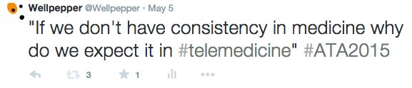 Consistency in Telemedicine