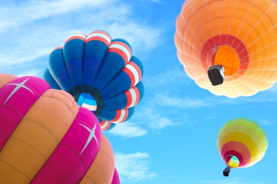 Hot Air Ballon 5 Ways to Help Boost Your Happiness ID-10065263