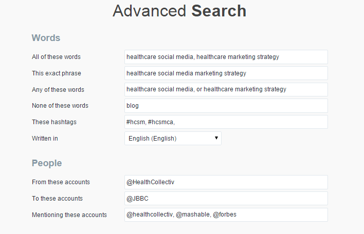 Beyond the Buzz: 12 Ways To Search For Health-Related Content On Twitter