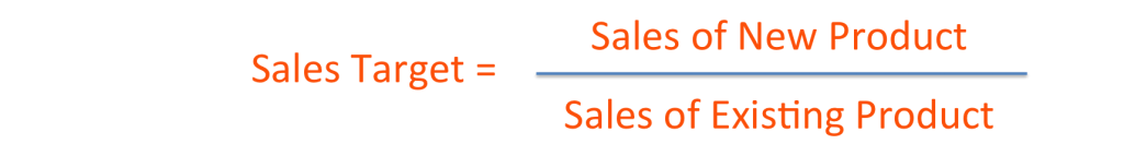 Product target calculation