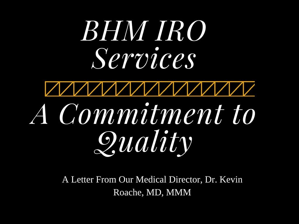 IRO Services