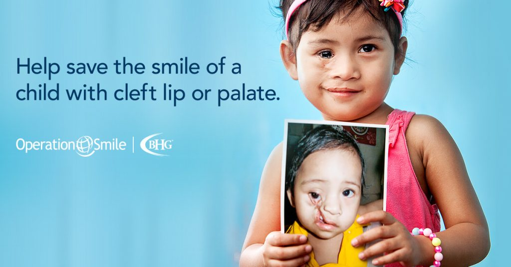BHG Partner, Operation Smile