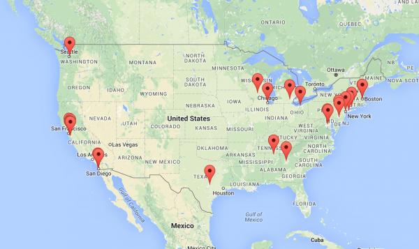 29 Company Map