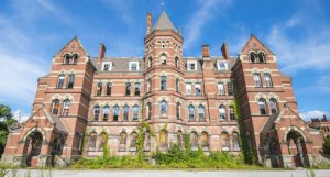 old school ivory tower hospital