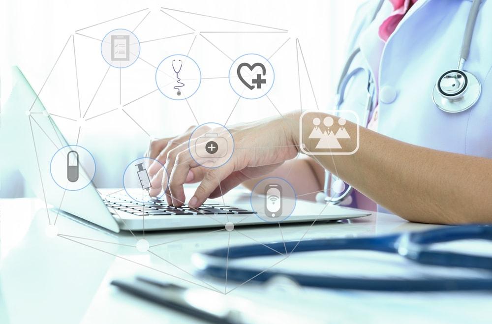 social media use for medical site