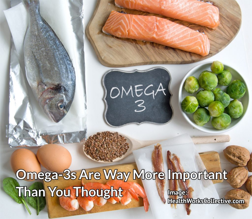 Which foods contain omega 3s?