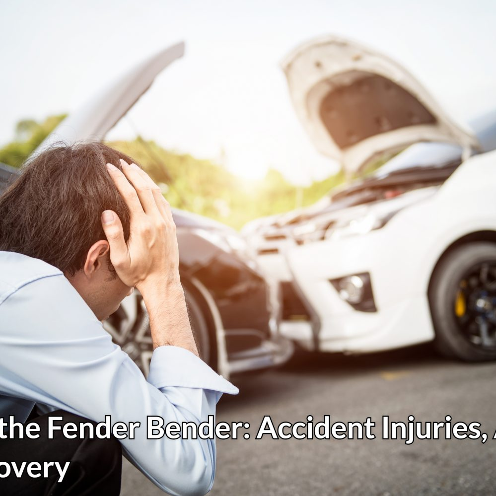 Beyond the Fender Bender: Accident Injuries, Actions, and Recovery