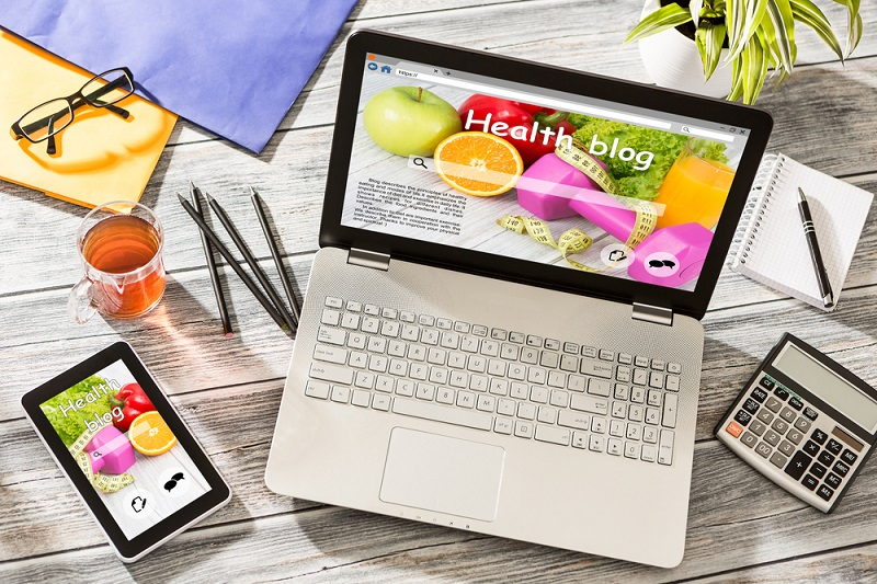 Leading People to Healthy Living through Blogging