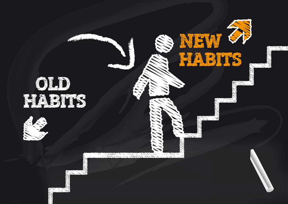 change unhealthy habits