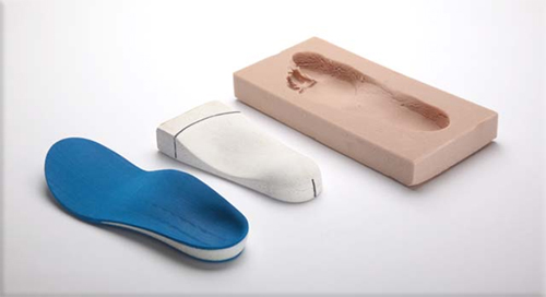 Treatment of foot orthotic