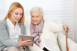Seniors And Caregivers Are Utilizing Technology To Improve Quality Of Life