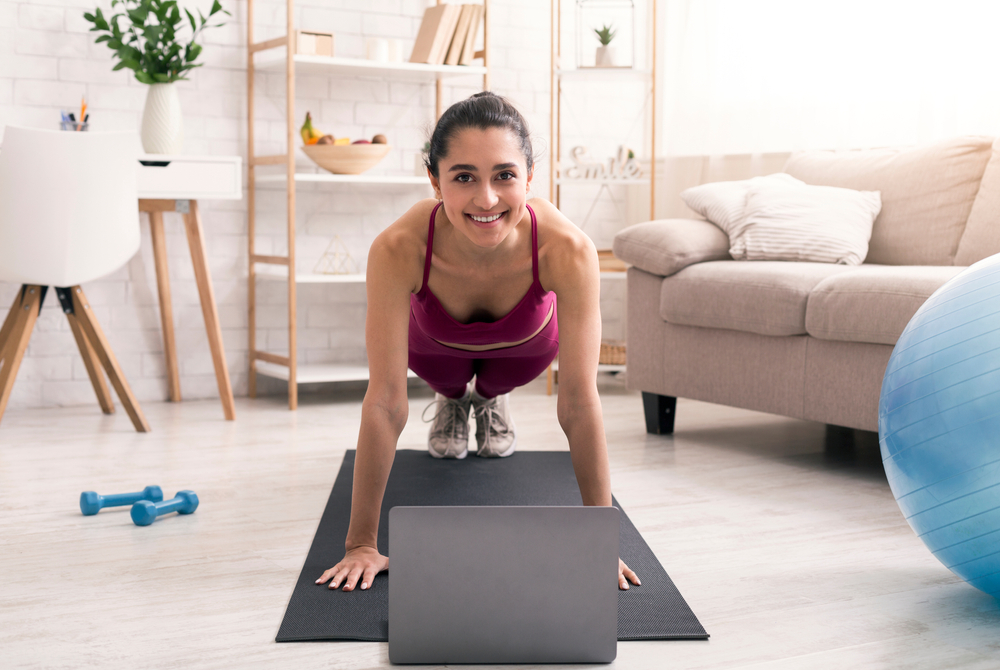 How to Achieve Optimal Health & Fitness When Working Out at Home