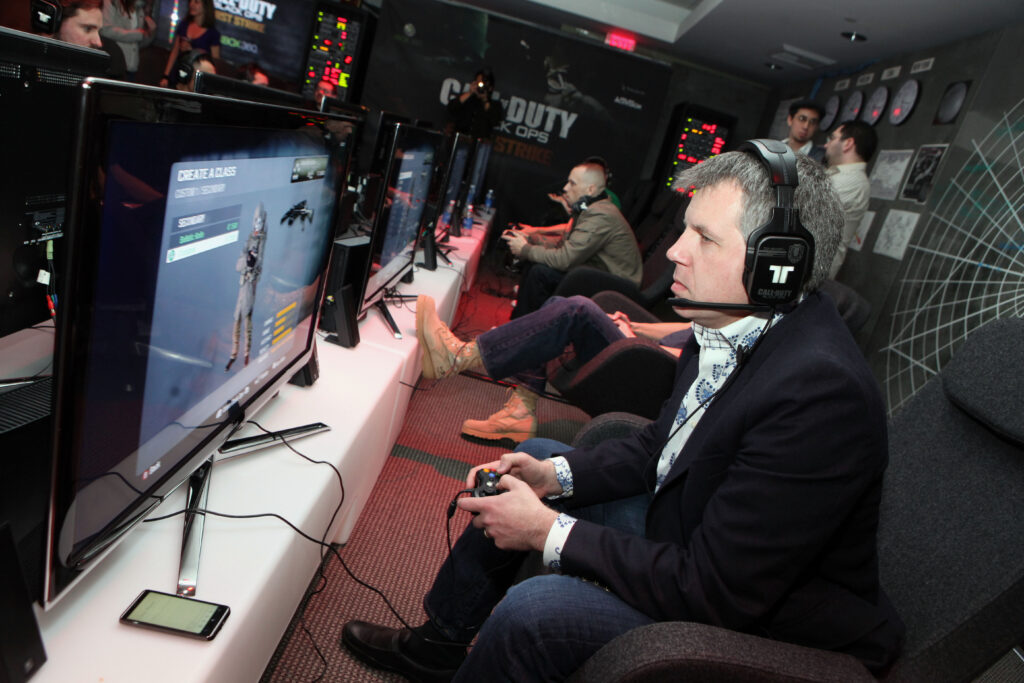 Adults can be affected to by gaming addictions and see counseling!