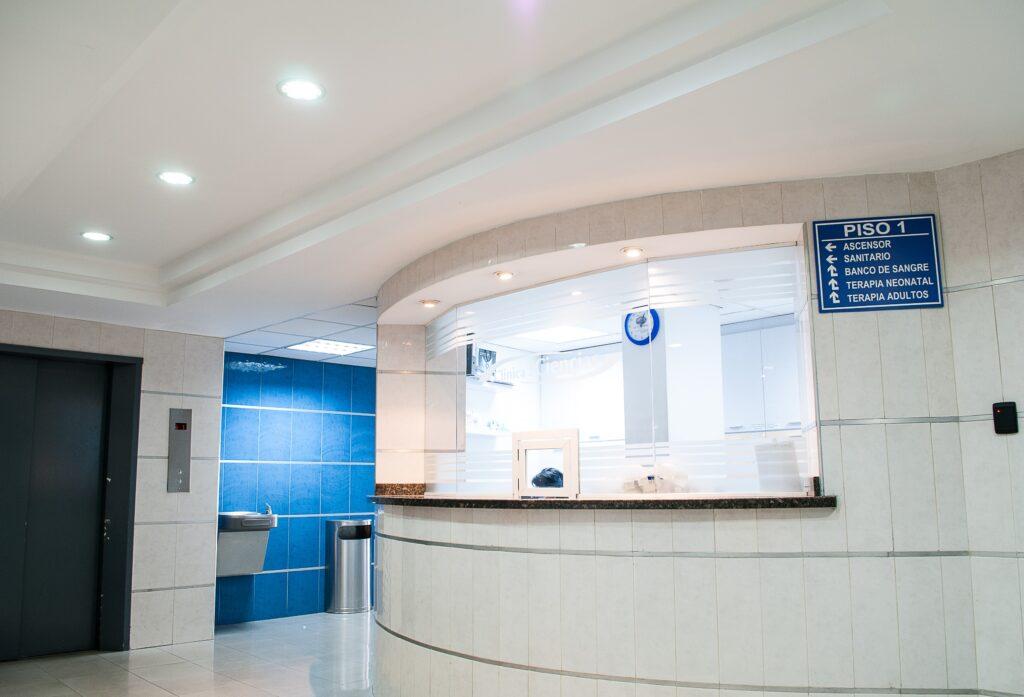 hospital front desk