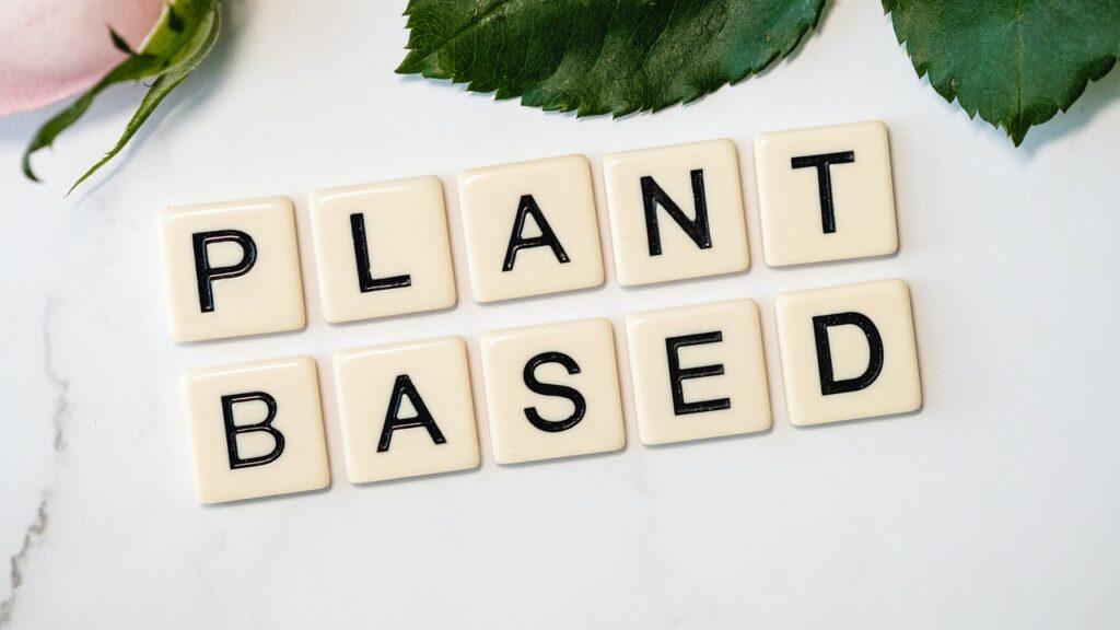vegan bodybuilder on a plant-based diet