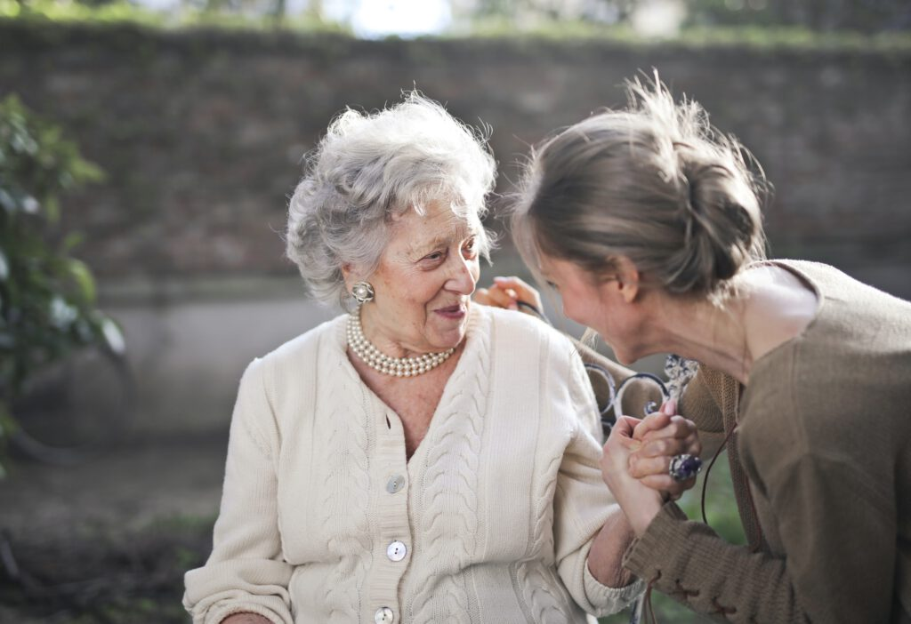 caring for a patient with dementia