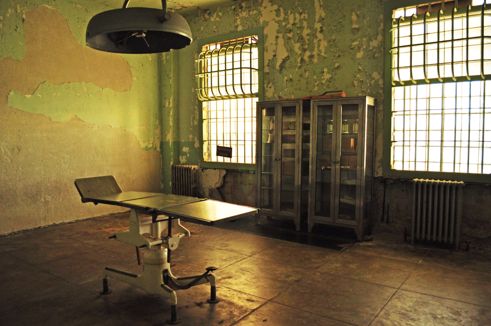 What happens when an inmate goes to the hospital?