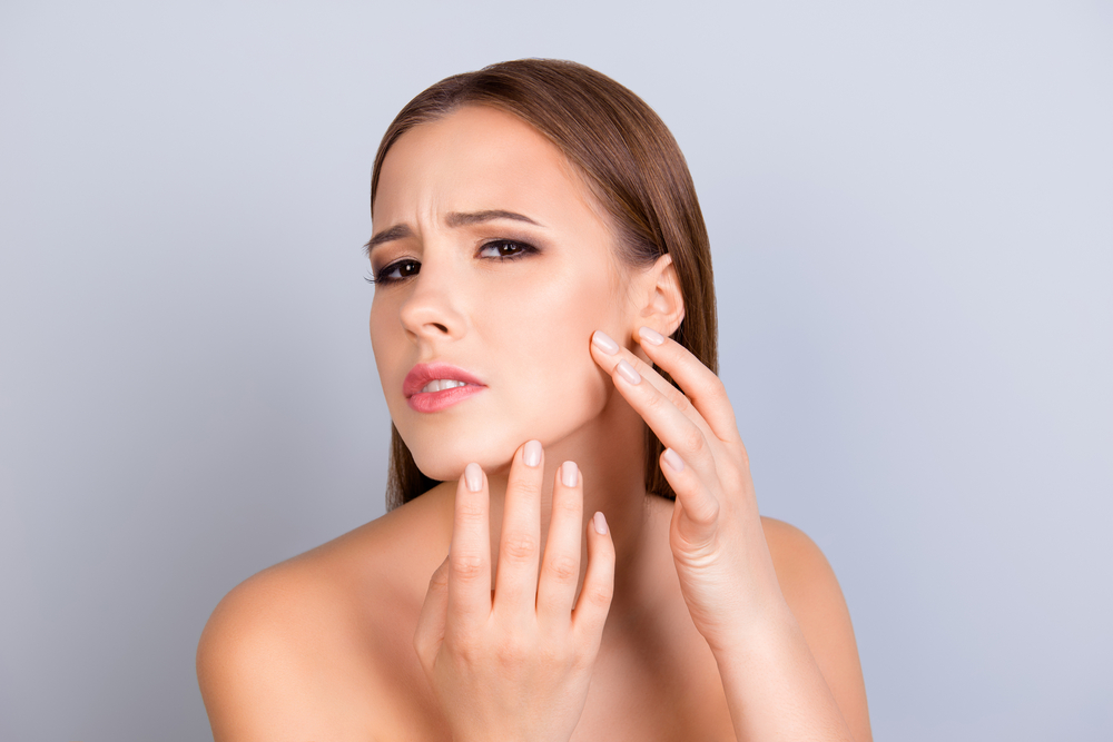 hard water effects on skin