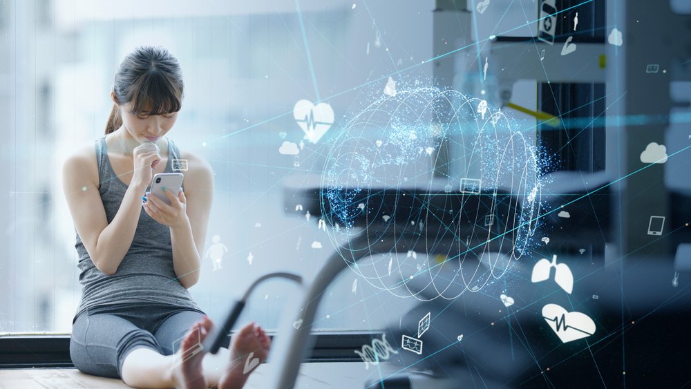 use of internet of things in fitness industry
